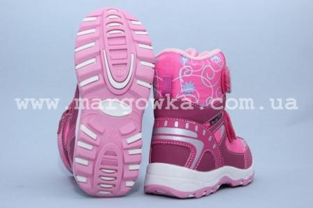 Ботинки BIKI 2036D для девочки розовые (G)