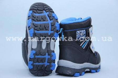Ботинки Tom.M 1608A для мальчика синие (G)