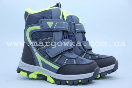 Ботинки Tom.M 1619B для мальчика синие (G)