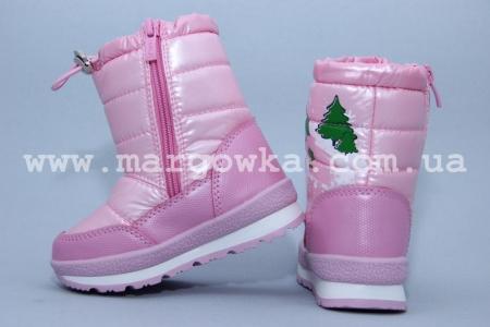 Дутики Tom.M 1526С для девочки розовые (A)