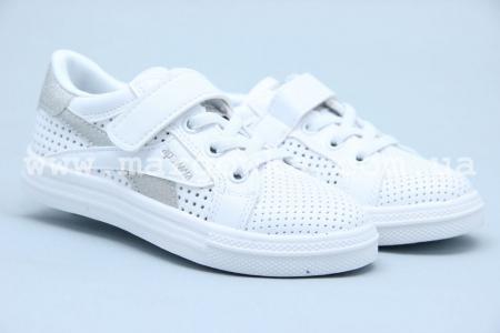 Кроссовки Apawwa C71-1 для девочки белые