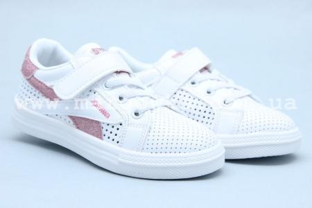 Кроссовки Apawwa C71-2 для девочки белые