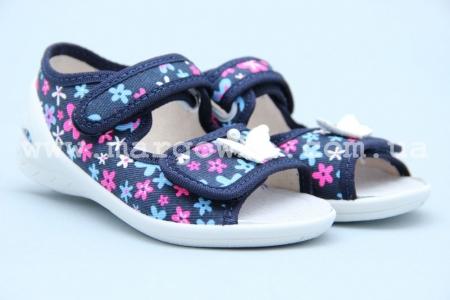 Тапочки Waldi 0065 для девочки синие