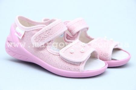 Тапочки Waldi 0066 для девочки розовые