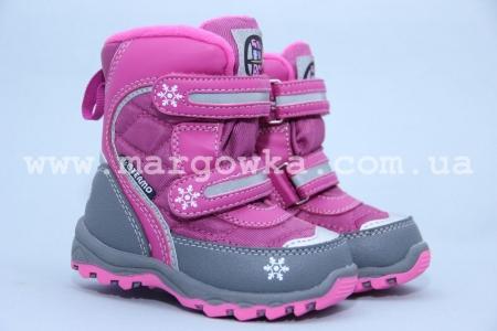 Термо-ботинки B&G TERMO BG187-52 для девочки (A)