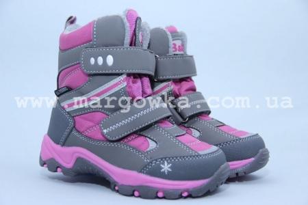 Термо-ботинки B&G TERMO R181-6020 для девочки (A)