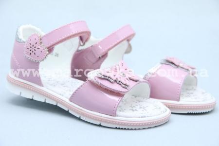 Босоножки Сказка S518-2 для девочки розовые