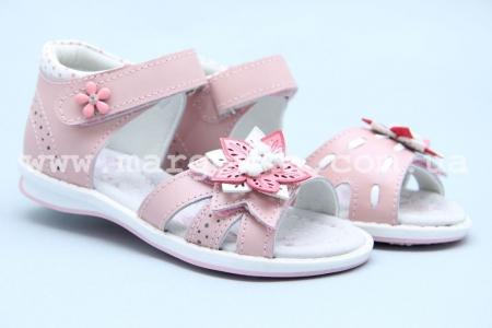 Босоножки B&G BG180-738 для девочки розовые