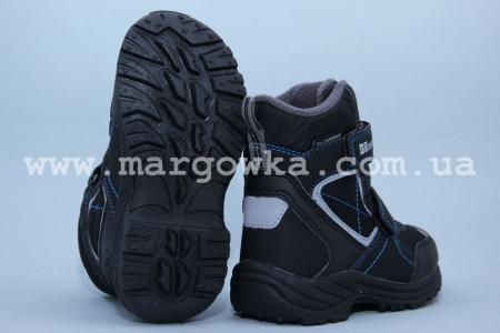 Термо-ботинки B&G TERMO R181-6030B для мальчика чёрные (A)