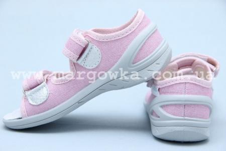 Тапочки Waldi 0069 для девочки розовые