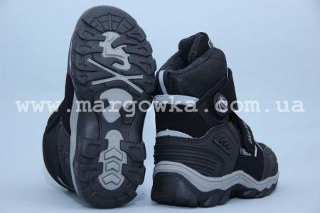 Термо-ботинки B&G TERMO ZTE17-583 для мальчика чёрные (G)