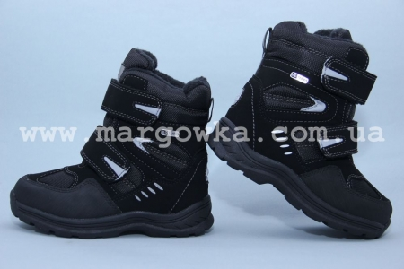 Термо-ботинки B&G TERMO ZTE17-004 для мальчика чёрные (A)