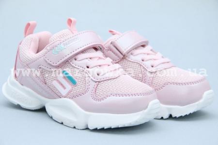 Кроссовки Bessky B8683A-4 для девочки розовые