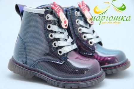 Ботинки С.Луч A03-2 для девочки