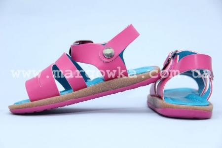 Босоножки Шалунишка 100-288 для девочки розовые (A)