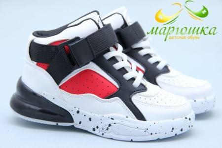 Ботинки Apawwa M57-1 для мальчика белые