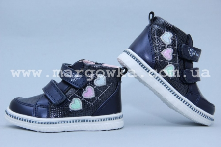 Ботинки Tom.M 3339A для девочки синие (G)