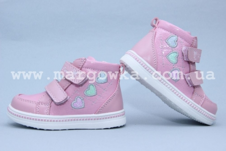 Ботинки Tom.M 3339C для девочки розовые (G)