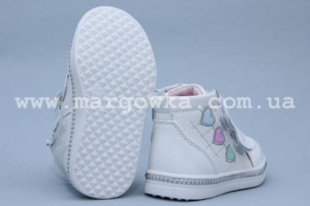 Ботинки Tom.M 3339D для девочки белые (G)