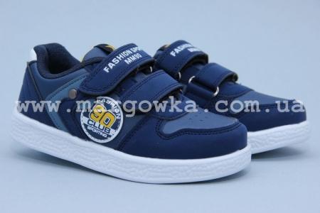 Кроссовки Tom.M 3116E для мальчика синие (G)