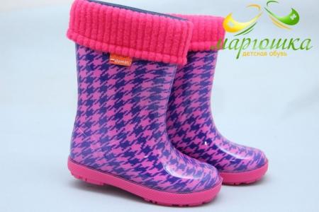 Резиновые сапоги Demar 0048HF для девочки