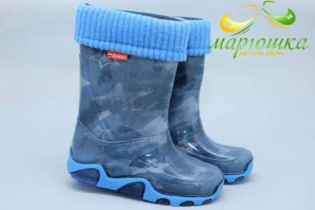 Резиновые сапоги Demar 0033AC для мальчика