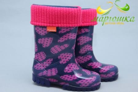 Резиновые сапоги Demar 0039V для девочки