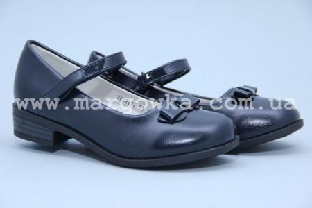 Туфли Королева Красоты (B&G) ZKK2817-51 для девочки синие (A)