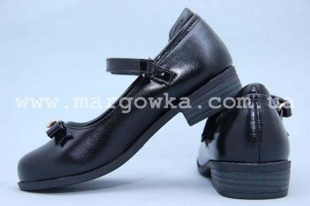 Туфли Королева Красоты (B&G) ZKK2817-50 для девочки черные (G)