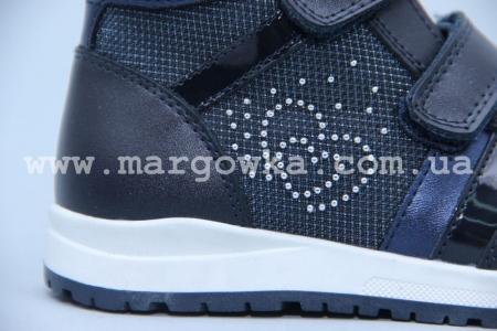 Ботинки BIKI 4414B для девочки синие (G)