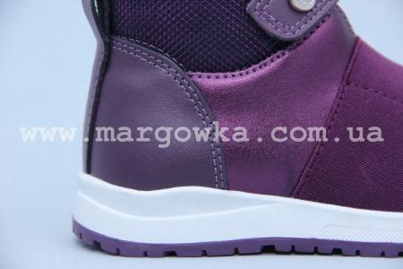 Ботинки BIKI 4411C для девочки фиолетовые (A)