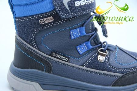 Термоботинки B&G TERMO R20-209 для мальчика синие