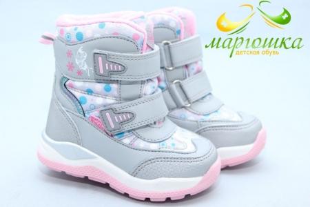 Ботинки Tom.M 5820B для девочки серые