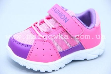 Кроссовки Tom.M 3346E для девочки розовые (G)