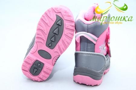Термоботинки B&G TERMO ZTE20-2-43 для девочки