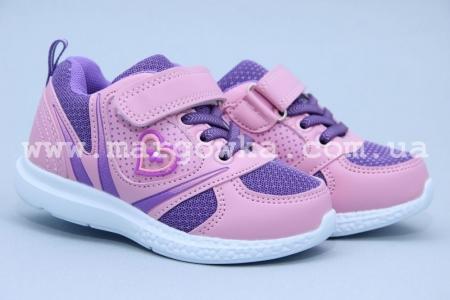 Кроссовки Tom.M 3480K для девочки розовые (A)