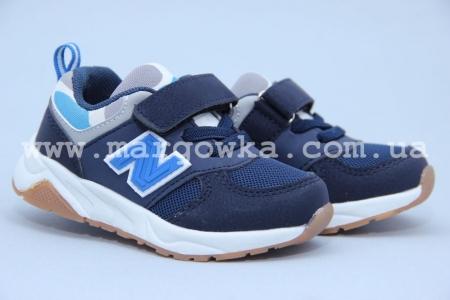 Кроссовки Tom.M 3353A для мальчика синие (A)