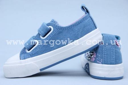 Кеды Tom.M 3500B для девочки синие (A)