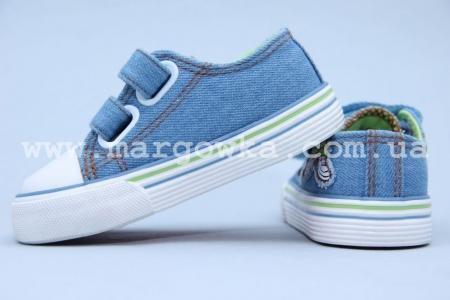 Кеды Tom.M 3496B для мальчика голубые (G)