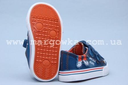Кеды Tom.M 3496C для мальчика синие (G)