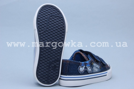 Кеды Tom.M 3499A для мальчика синие (G)