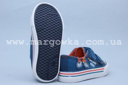 Кеды Tom.M 3499C для мальчика синие (G)