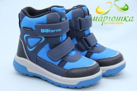 Термоботинки B&G TERMO R20-191 для мальчика синие