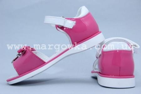 Босоножки Сказка S501-2 для девочки розовые (A)