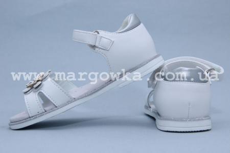 Босоножки Сказка S503 для девочки белые (A)