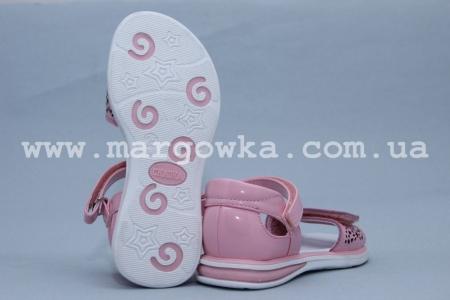 Босоножки Сказка S505-1 для девочки розовые (G)
