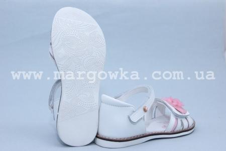 Босоножки BIKI 3354A для девочки белые (A)