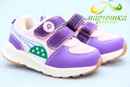 Кроссовки Tom.M 5326F для девочки фиолетовые