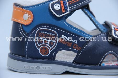 Босоножки Tom.M 3132D для мальчика синие (G)