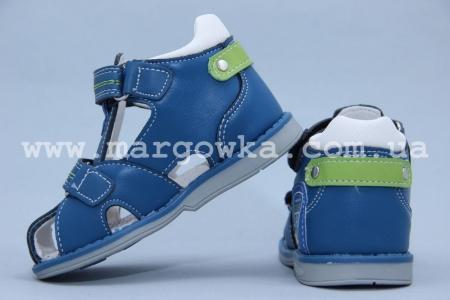 Босоножки Tom.M 3132E для мальчика синие (G)
